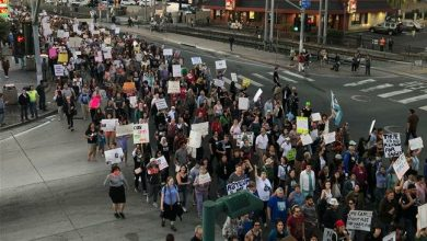 Photo of Thousands across US protest against Trump's treatment of migrants