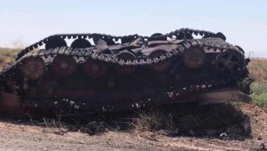 Photo of Aftermath from Tal Malah battle reveals several destroyed terrorist vehicles: photos