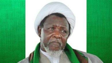 Photo of Nigerian prominent cleric Sheikh Zakzaky in need of urgent medical treatment