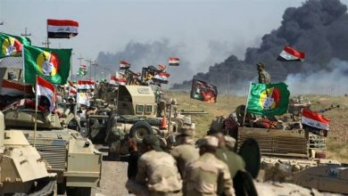 Photo of Iraqi forces, Hashd al-Sha'abi fighters purge villages north of Baghdad of Daesh
