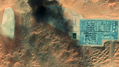 Photo of NASA Image: Drone Attack by Yemen Army Sparks Fire in Saudi Aramco Oil Field