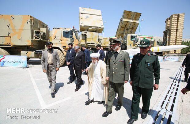 PHOTOS: Ayatollah Jannati visits Bavar-373 air defense