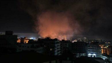 Photo of Zionist regimewarplanes launch fresh airstrikes on Gaza Strip
