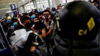 Photo of China condemns 'near-terrorist acts' at Hong Kong airport