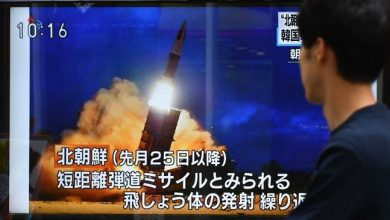 Photo of North Korea fires 2 more unidentified projectiles seawards: South military