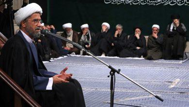 Photo of PHOTOS: Leader Ayatollah Khamenei attends a Muharram mourning ceremony on the eve of Ashura