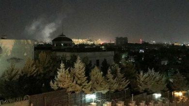 Photo of Rocket explodes near US Embassy in Kabul on 9/11 anniversary
