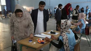 Photo of Afghan voters go to elect next president amid high security measures