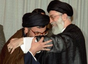 Photo of Sayyed Nasrallah to Imam Khamenei: We Shall Never Leave You O Son of Hussein