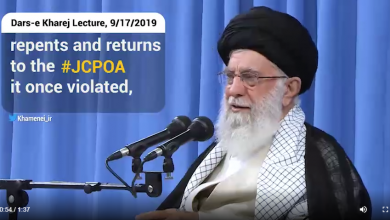 Photo of VIDEO: 'No negotiations will take place between Iran & U.S. officials at any level' Leader says