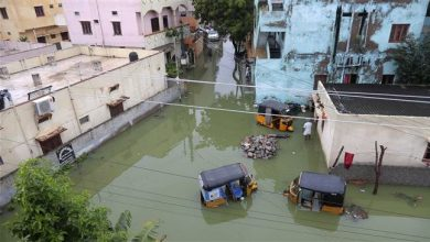 Photo of Floods kill 113 in north India in late monsoon burst; jail, hospital submerged