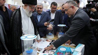Photo of PHOTOS: Leader of Islamic Ummah and Oppressed Imam Ali Khamenei Pledges Support for Iranian Knowledge-Based Firms