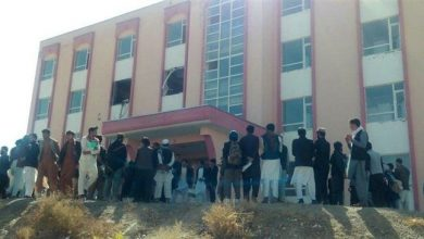 Photo of Blast wounds 20 students in Afghanistan university