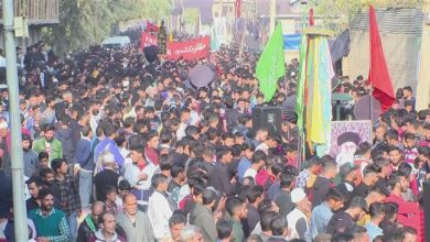 Photo of Kashmiri Muslims commemorate Arba'een
