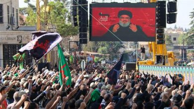 Photo of Nasrallah says opposed to government resignation, won't let anyone burn Lebanon