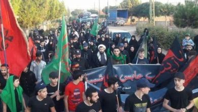 Photo of Mass Rally in Baalbeck to Mark Arbaeen of Imam Hussein