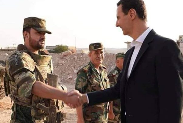 Photo of VIDEO: Syrian President Assad meets famous 'Tiger' commander in Idleb frontlines