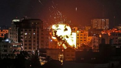 Photo of Zionist occupation regime conducts fresh air raids on Gaza after anti-settlement protests across Palestine