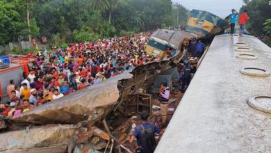 Photo of 16 dead, 60 injured as trains collide in Bangladesh