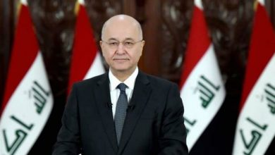 Photo of Iraqi president says premier ready to quit, vows early poll after new election law passed