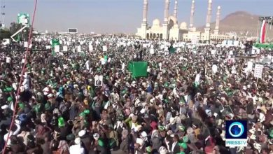 Photo of Yemen: Thousands mark Prophet Mohammad's (pbuh) birthday in Sana'a