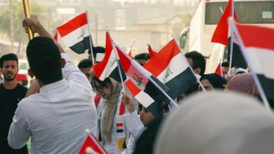 Photo of 'Protests in Iraq are part of an Israeli-American plot'