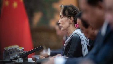 Photo of Myanmar's killer Suu Kyi sued for first time over Rohingya