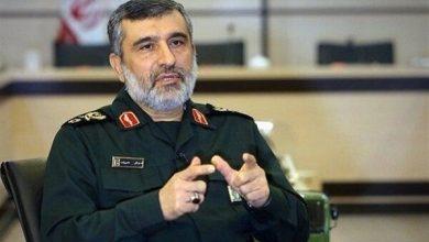 Photo of IRGC aerospace commander Hajizadeh in good health