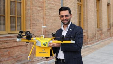 Photo of Iran unveils indigenous drones for postal deliveries