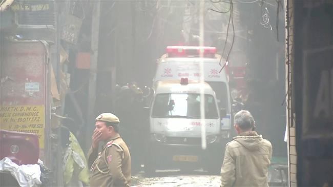 Photo of At least 35 killed in factory fire in New Delhi; death toll expected to rise