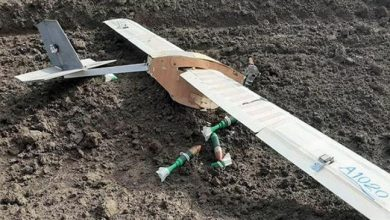 Photo of Syrian air defense forces shoot down terrorists' explosives-laden drone in Hama