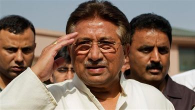Photo of Pakistan's Musharraf sentenced to death for 'high treason'