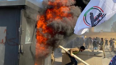 Photo of Courageous Iraqi Protesters Break into US Embassy in Baghdad