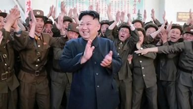 Photo of North Korea's Kim Calls for 'Military Countermeasures'