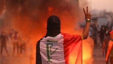 "Photo of ""Joker Revolutionaries"" in Iraq Fabricating Violence Scene in Iraq"