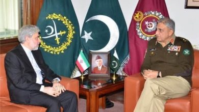 Photo of Iranian Envoy Confers with Pakistan Army Chief on Regional Developments