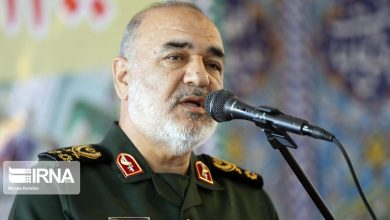 Photo of IRGC cmdr: Basij, center of Islamic Ummah dignity