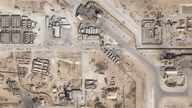 Photo of US troops clear rubble from Ain al-Assad base after Iran retaliatory strikes