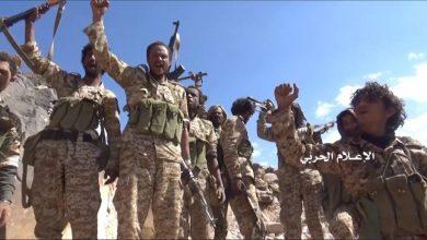 Photo of Ansarallah forces shoot down enemy aircraft along Saudi-Yemeni border