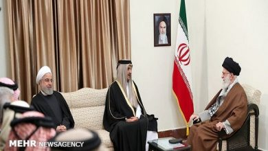 Photo of Qatari Emir meets with Leader of the Islamic Ummah and Oppressed Imam Sayed Ali Khamenei