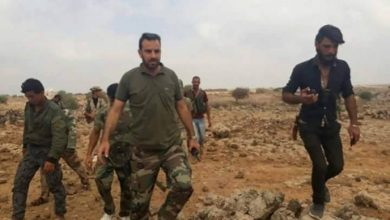 Photo of Syrian Army within 13km of strategic city near Aleppo border