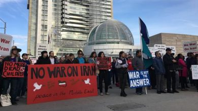 Photo of Protesters warn against war with Iran in San Francisco