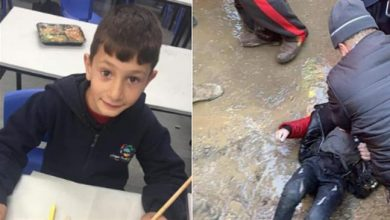 Photo of 8-year-old Palestinian boy found dead, suspected to have been kidnapped by zionist settlers