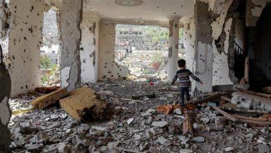 Photo of Zionist Saudi attacks kill child in Yemen's north