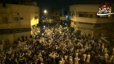 Photo of VIDEO: Huge crowds attend mass funeral for young dissidents in Saudi Arabia's Qatif