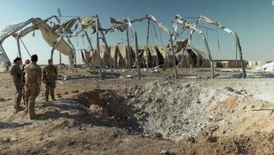 Photo of VIDEO: New footage reveals massive destruction in Satanic US base after Iran's missile rain