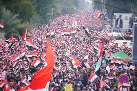 Photo of Iraqis march in 'millions' to call for expulsion of US troops