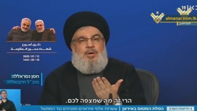Photo of 'Israel' Must Take Nasrallah's Recent Threats Seriously: Zionist Analysts
