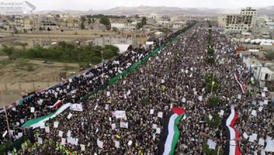 Photo of Despite Ongoing Saudi Aggression, Yemen Shows Solidarity with Occupied Palestine, Rebels against Trump's Deal