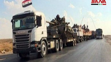 Photo of Syrian Army Sends Over 120 Military Trucks to Raqqa